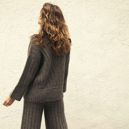 Kordal Tate Ribbed Sweater - French Gray