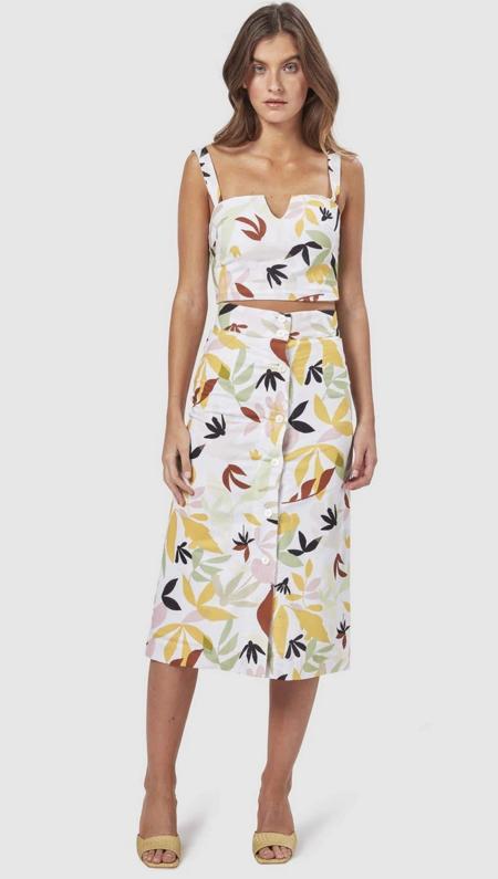 LADYBIRD Charlie Palma Midi Skirt - Tropics