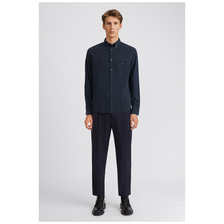 Filippa K Zachary Tencel Shirt - Navy