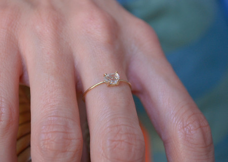 Kristen Elspeth Herkimer Diamond Ring
