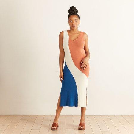 Aymara Africa Dress - Delft