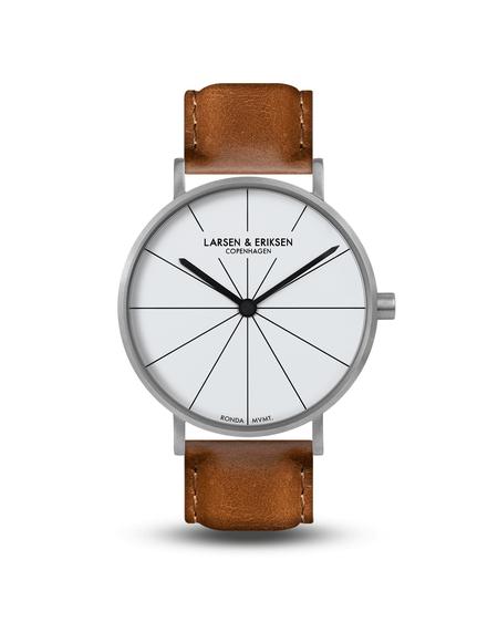 Larsen & Eriksen Reloj Absalon Watch - Silver White