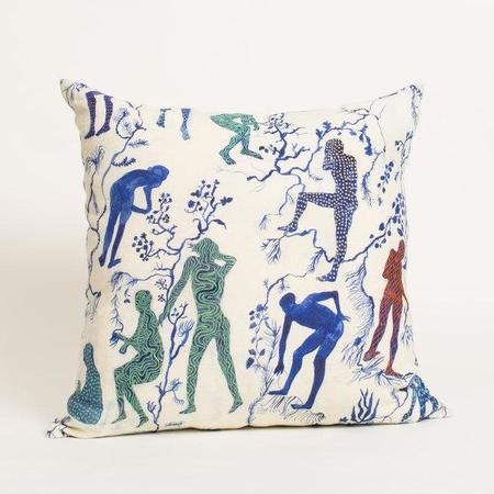 Olivia Wendel Silhouettes II Pillow