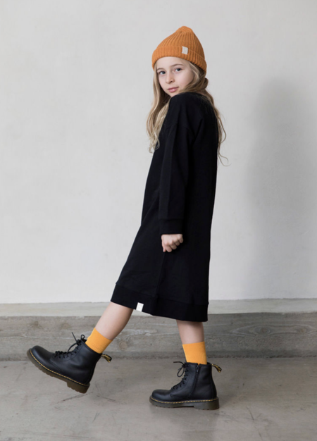 KIDS I DIG DENIM Clover Sweat Dress - black