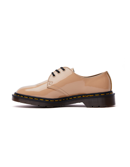 Undercover Dr.Martens Patent Leather 1461 Boots - Beige