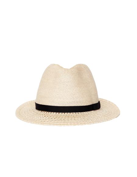 Yohji Yamamoto Straw Hat - Beige