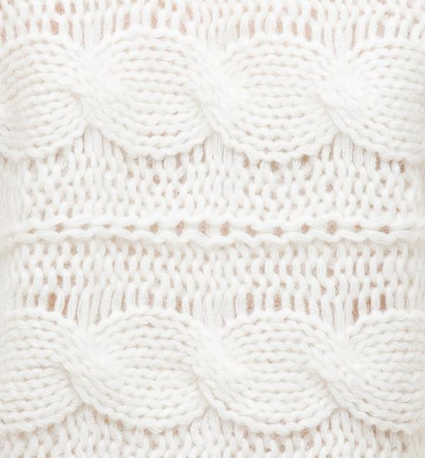 Ryan Roche V-Neck Sweater Ivory