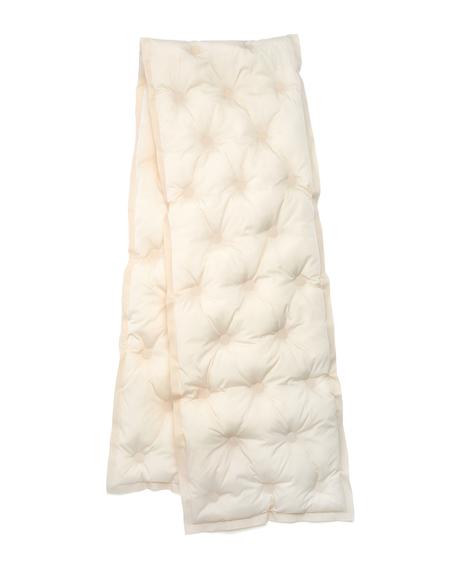 Maison Margiela Glam Slam Scarf - White