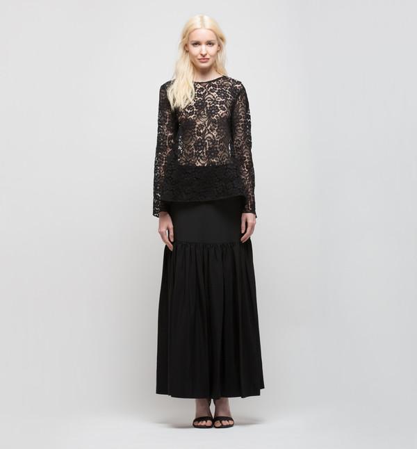 Ryan Roche Skirt Black