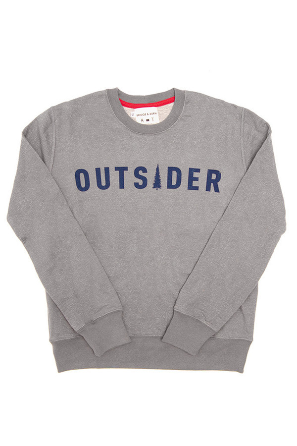 Bridge & Burn Columbiaknit Women's Outsider Sweatshirt Slate