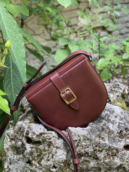 Officina del Poggio Leather Hunting Bag - Mogano