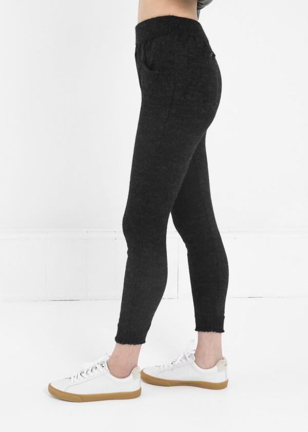 Été Noir Lightweight Knit Trousers