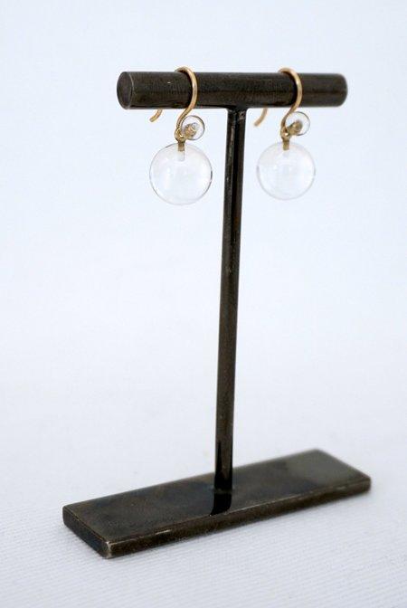 Dan-Yell Chan Rock Crystal Earrings