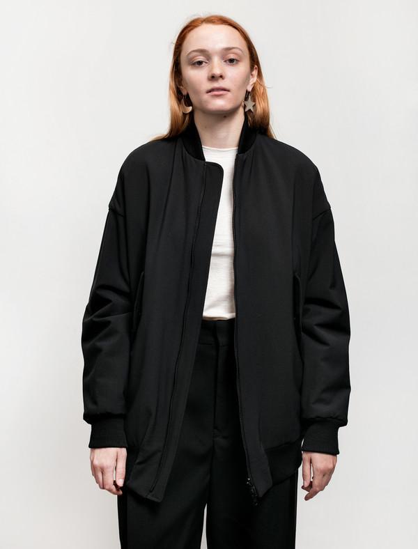 Ys by Yohji Yamamoto Womens Bomber Jacket