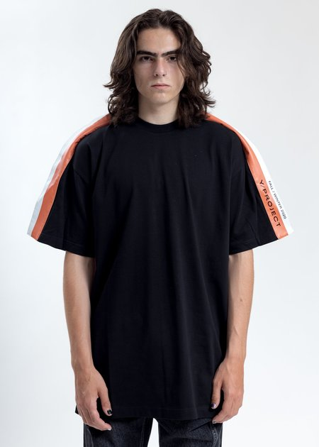 Y/project Black Wing Panel T-Shirt