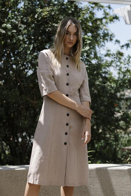 Six Crisp Days Valery Dress - Tan
