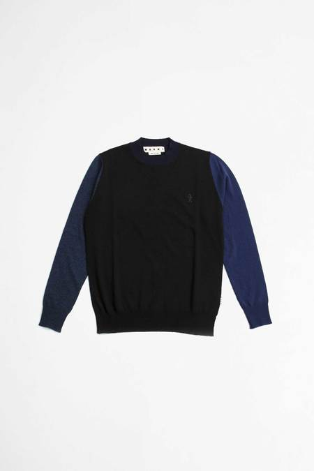 Marni Colour Block Sweater - Blue