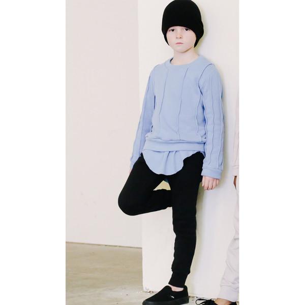 Kid's Mimobee Lowrider Harem Leggings - Black