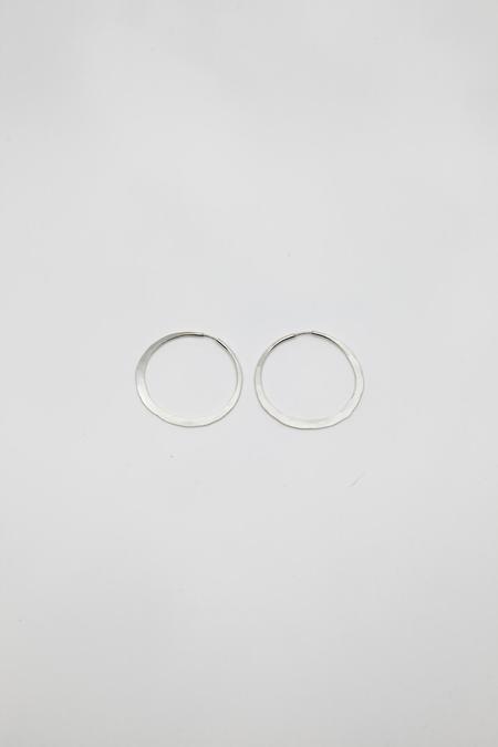 Point Reyes Jeweler Hoop Earrings - Silver