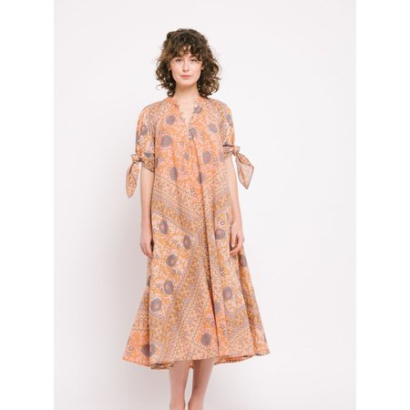 Matta Manasi Booj Dress - Peach