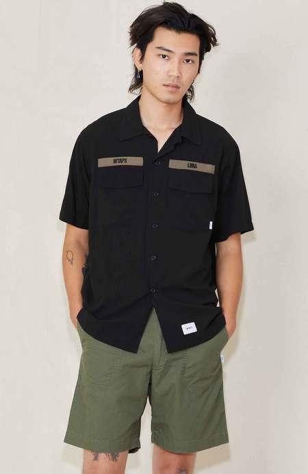WTAPS Buds Rapo Cross Short Sleeve Shirt