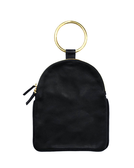 Otaat/Myers Large Ring Pouch in Black