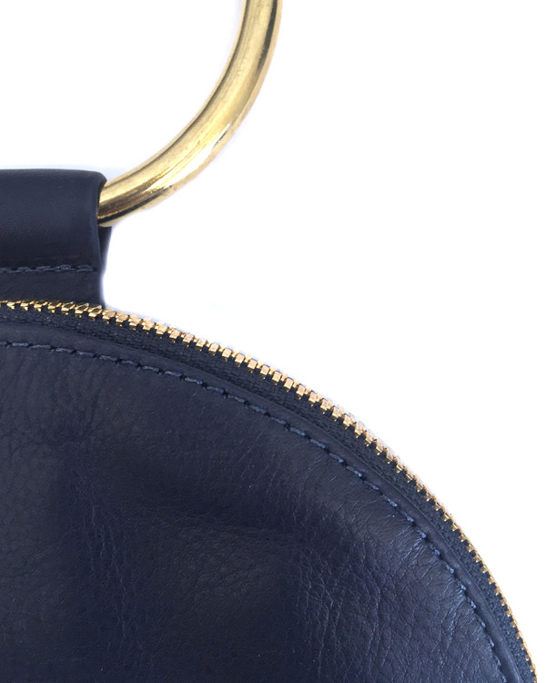 Otaat/Myers Large Ring Pouch in Navy