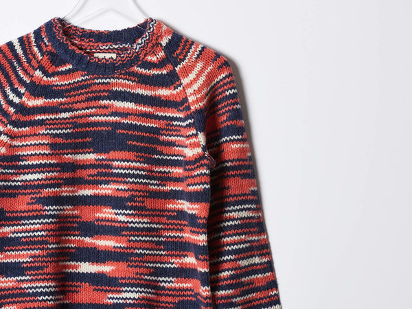 Trademark Space-Dye Sweater