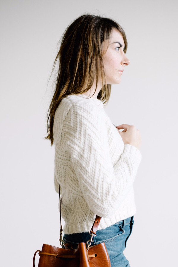 Kordal Cleo Sweater - White