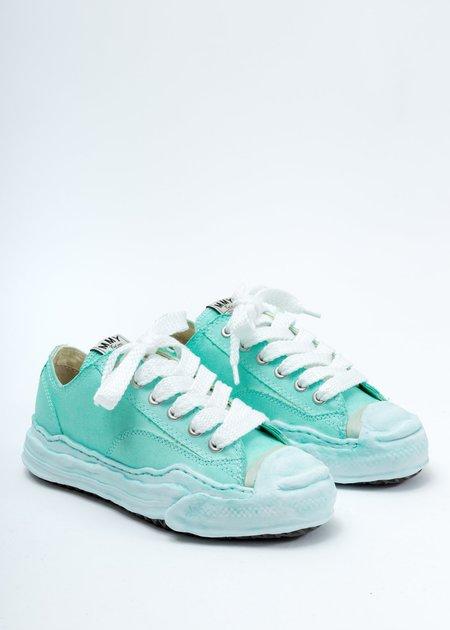 Mihara Yasuhiro Original Sole Toe Cap Low Cut Sneaker - Green