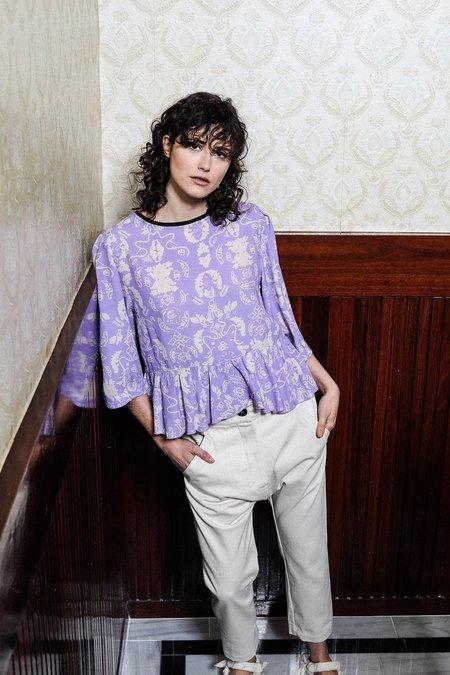 Salasai Biography Tee - Wallpaper Lilac
