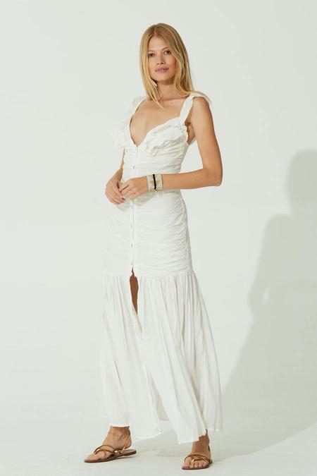 Jen's Pirate Booty Maha Maxi Dress - White