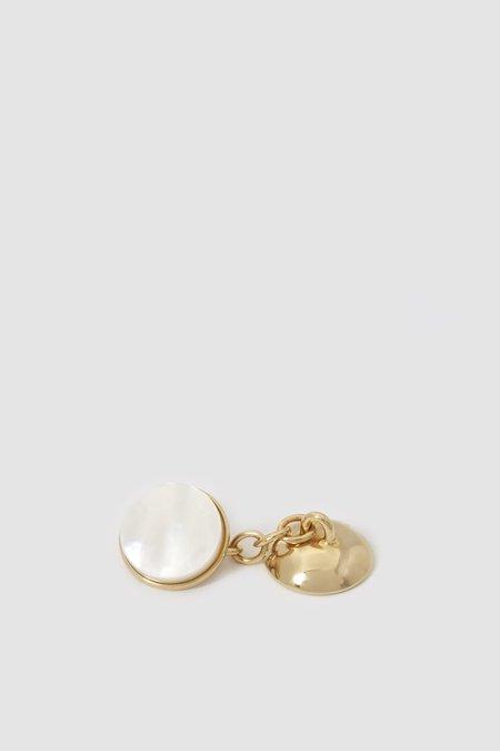 Codis Maya X FSC Cufflinks - Gold/Mother of Pearl
