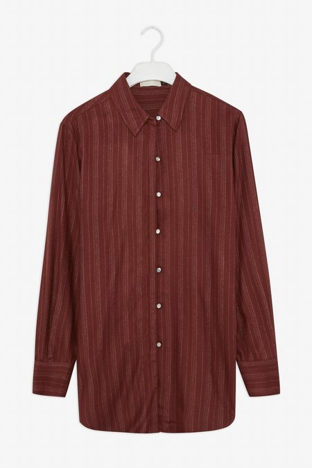 Frisur Mirka Shirt - striped marron