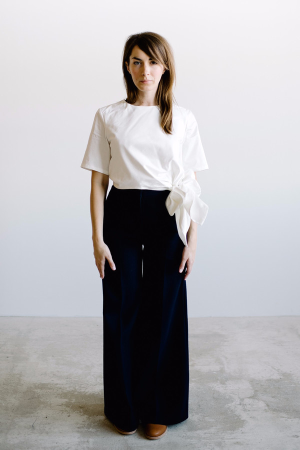Sechung Tie Tee - White