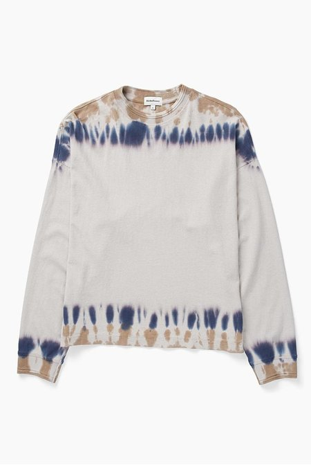 Richer Poorer Relaxed Long Sleeve Pullover - Tie Dye