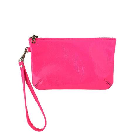 Tracey Tanner Small Wristlet - Pink Fluoro Foil