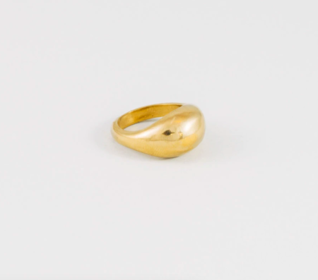 Wolf Circus Magnes Ring - Gold