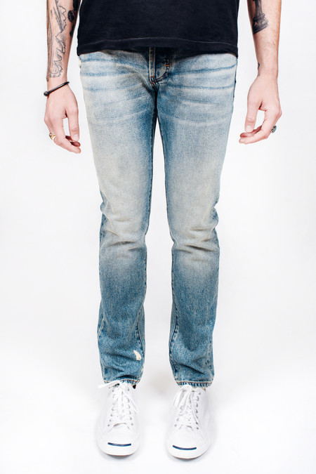 Men's Earnest Sewn Dean Skinny Liberty Blue