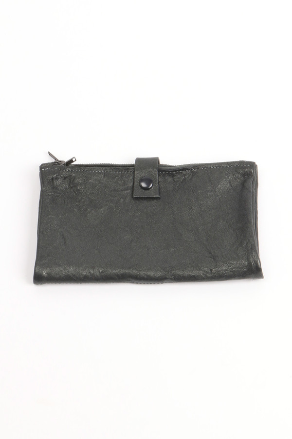 Stitch and Tickle Double Zip Wallet