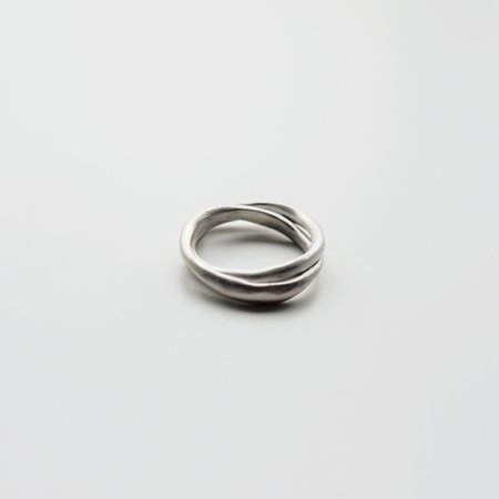 Gece Gece Wrap Ring - Sterling Silver