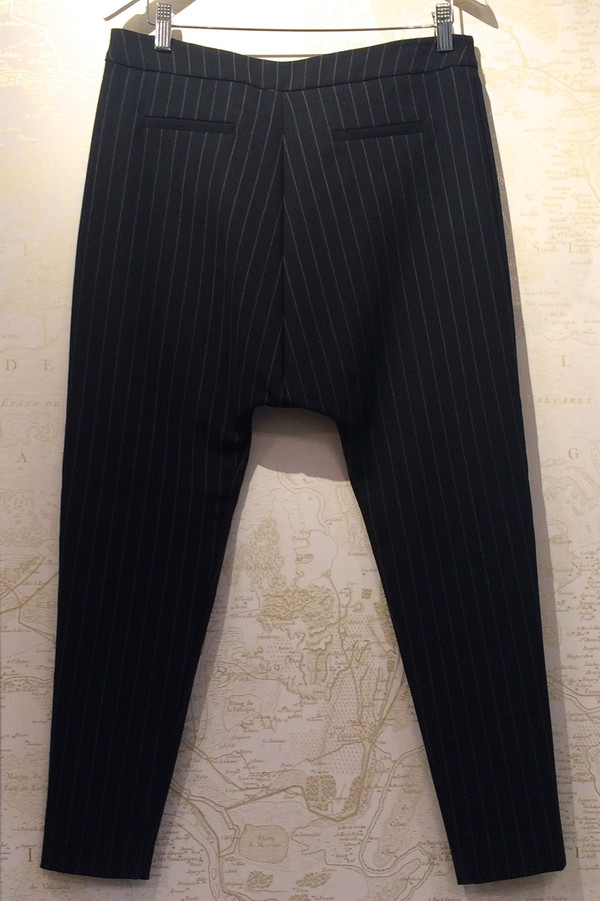 Camilla and Marc Pinstripe Drop 'Daub' Pant