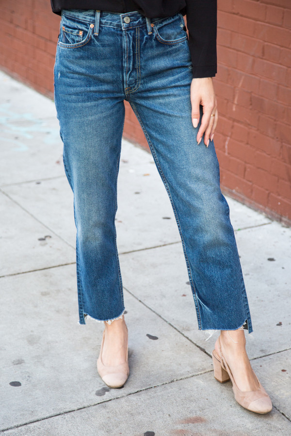 Grlfrnd Helena Low Rise Jean In Close To You