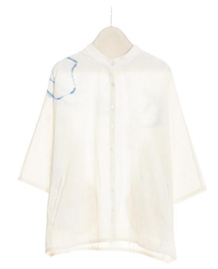 11.11 Cover Woven Shirt - Ecru