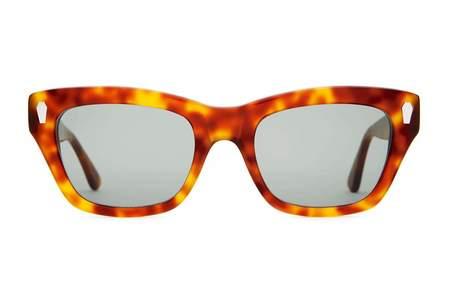 Unisex CRAP EYEWEAR The Cosmic Highway Sunglasses - Havana Tortoise
