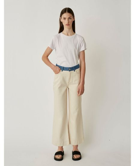 JUST FEMALE Sika Jeans - Off White