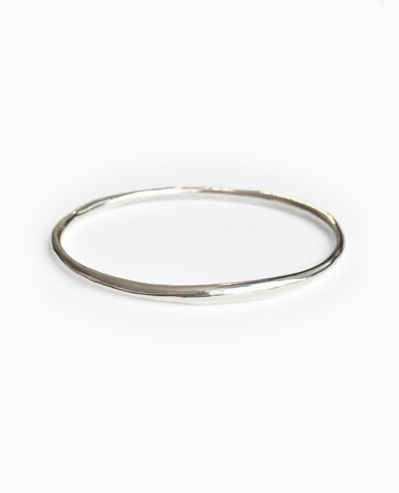 SUAI Form Bangle - Silver