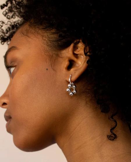 YAM Floret Earrings - Silver