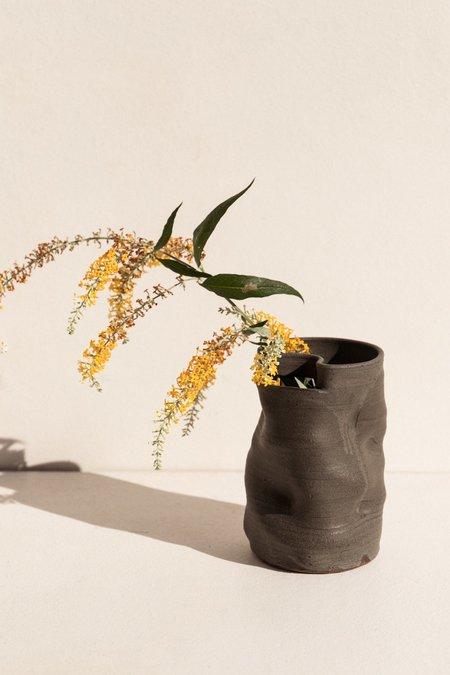 Asobimasu Clay Kyokusen large vase - velvet