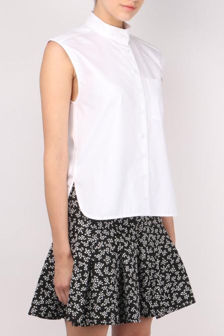 Carven Short Sleeveless Shirt